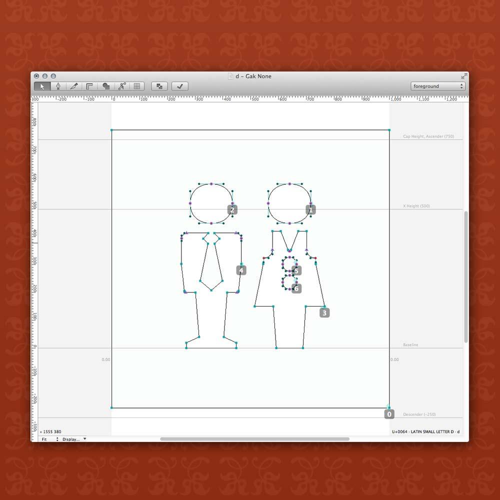 GAK Symbols - The drawing