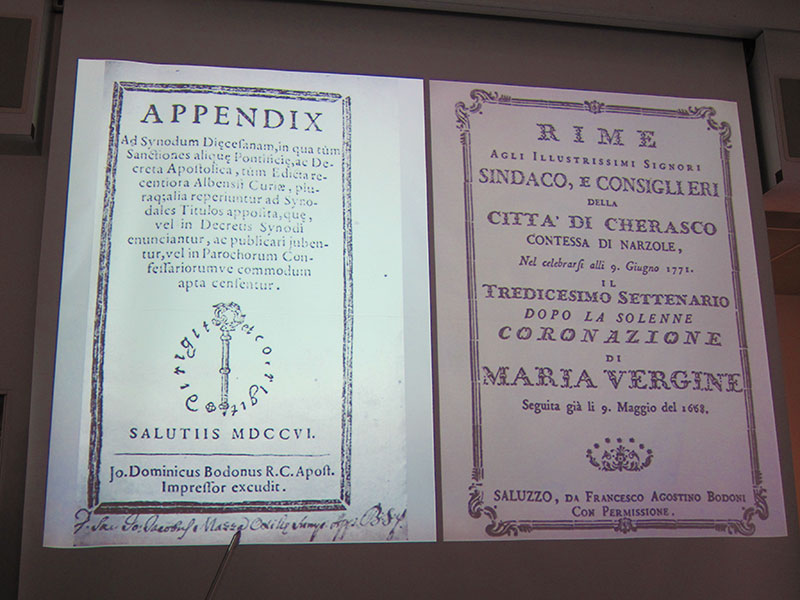 The 2012 Type@Cooper Condensed Program, Valery Lester's fascinating lecture about Giambatista Bodoni
